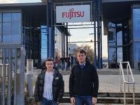 Himmelbach Computer Azubis besuchen PC Hersteller Fujitsu in Augsburg und erleben eine beeindruckende Werksführung.