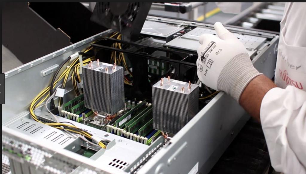 Fujitsu Server für DATEV optimiert - für optimales Laufzeitverhalten