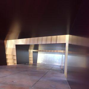 Tonofenfabrik Lahr - Treppenraum Blick nach unten