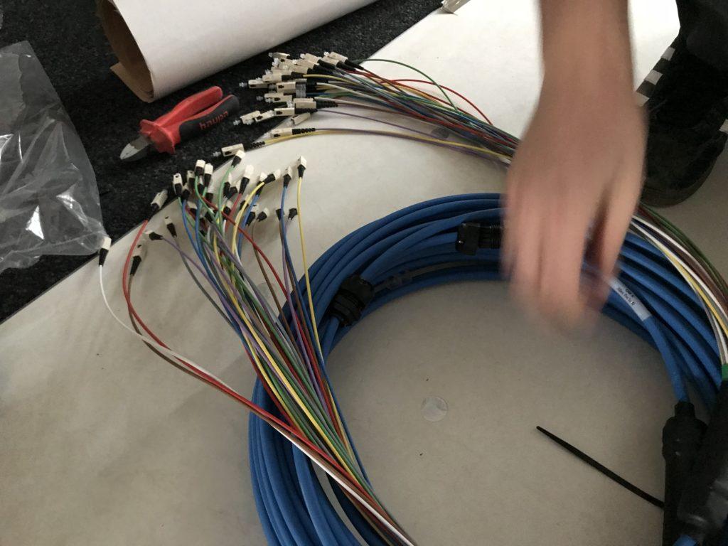 LWL vorkonvetktionierte Kabel