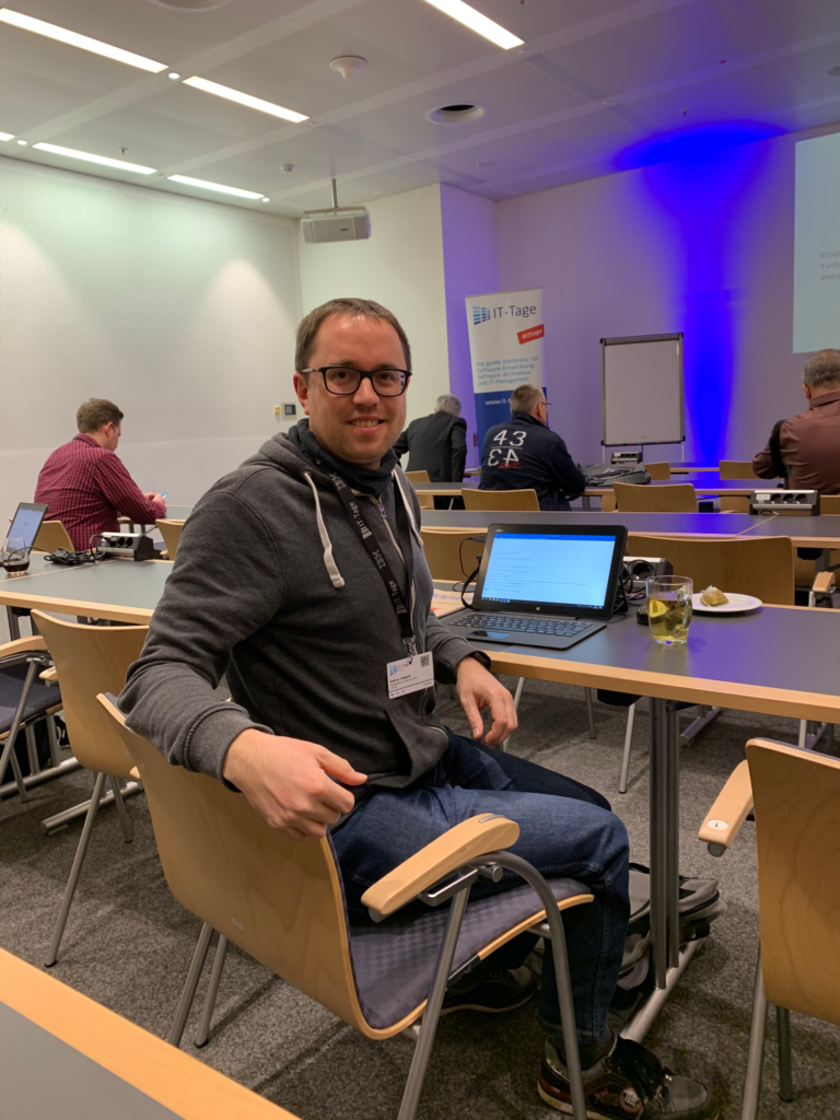Andreas Pampuch bei den IT-Tagen 2019